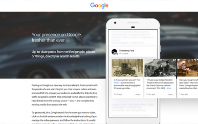 Do You Know How To Use Google Posts For Your Business?