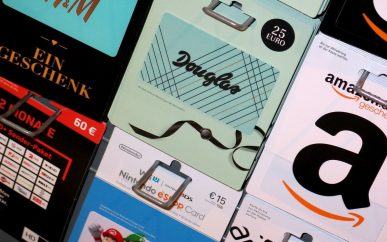 Gift Cards And Vouchers Now Have Three Year Expiry